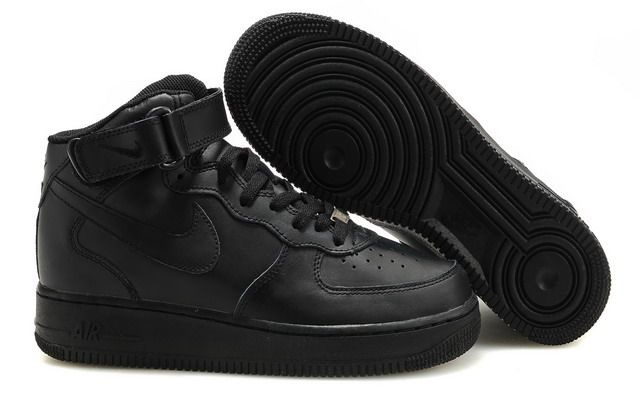 Кецове Nike Air Force Черни