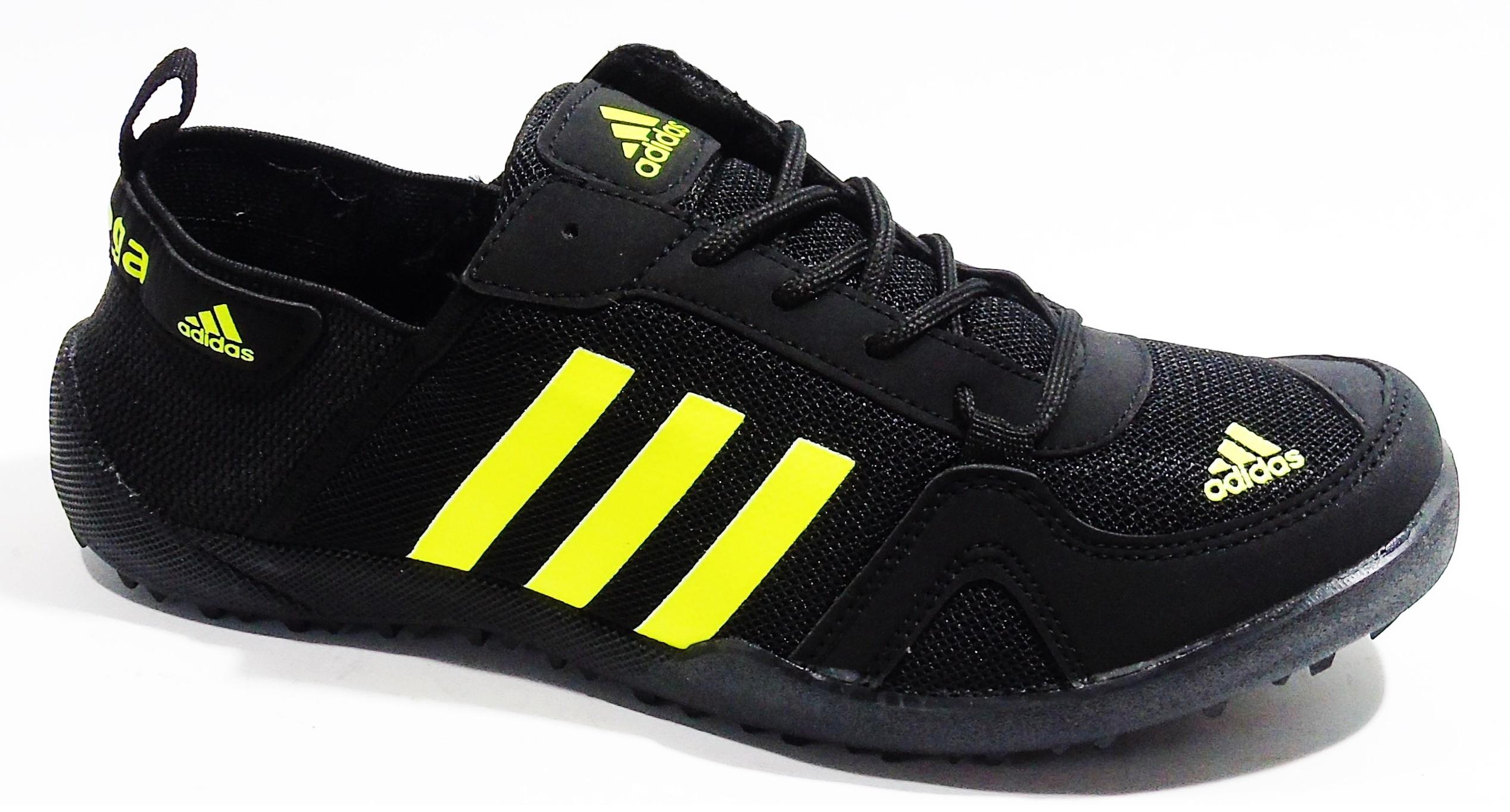 Маратонки Adidas Daroga Climacool черно-неон