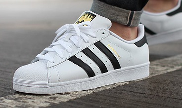 ADIDAS SUPERSTAR БЯЛО ЧЕРНО