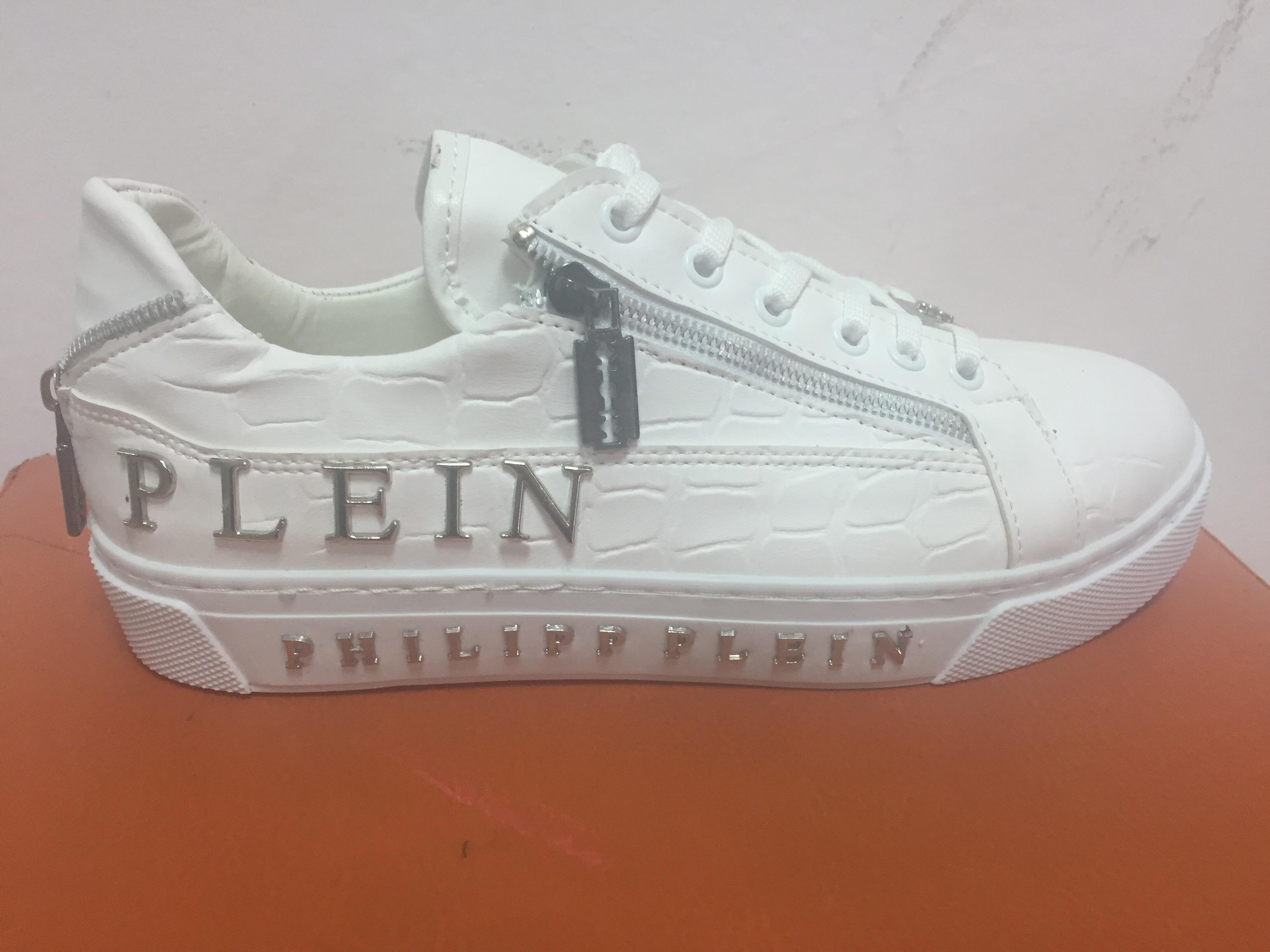 Мъжки обувки Philipp Plein 012 Skull White