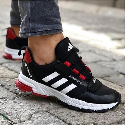 Маратонки Adidas Terrex Climaproof черно-червен
