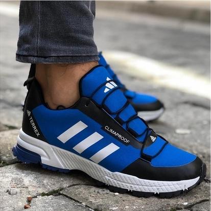 Маратонки Adidas Terrex Climaproof син