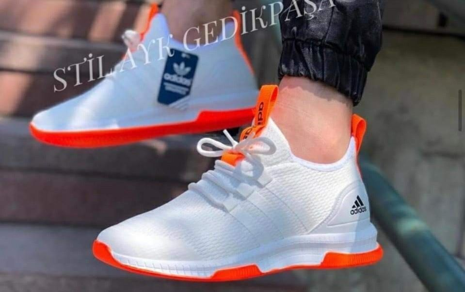 Маратонки Adidas Boost 2020 бяло-оранжево