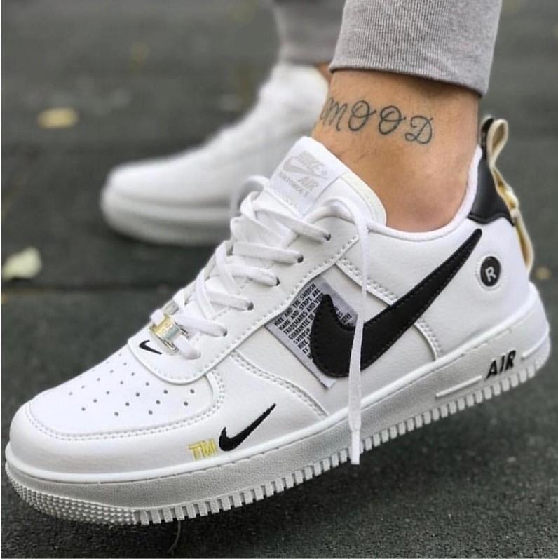 Маратонки Nike Air Force TM бяло-черно