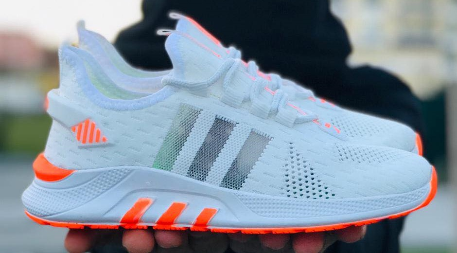 Маратонки Adidas Run Бяло с оранжево
